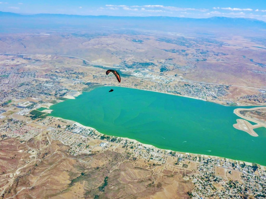 Vista paraglider reaches new heights in pursuit of beauty