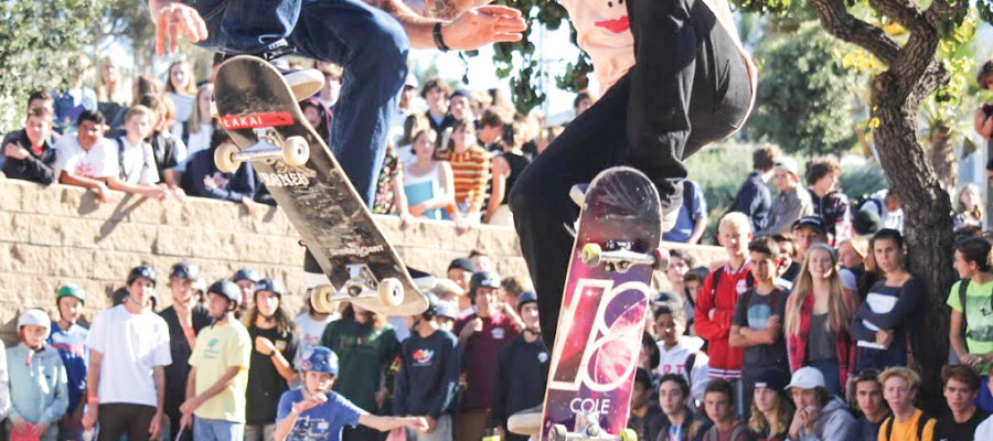 San Dieguito Academy skate demo provides for a good cause and good times
