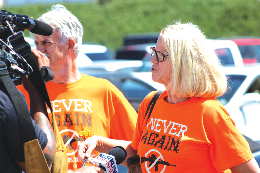 Gun show sends local group cease and desist letter