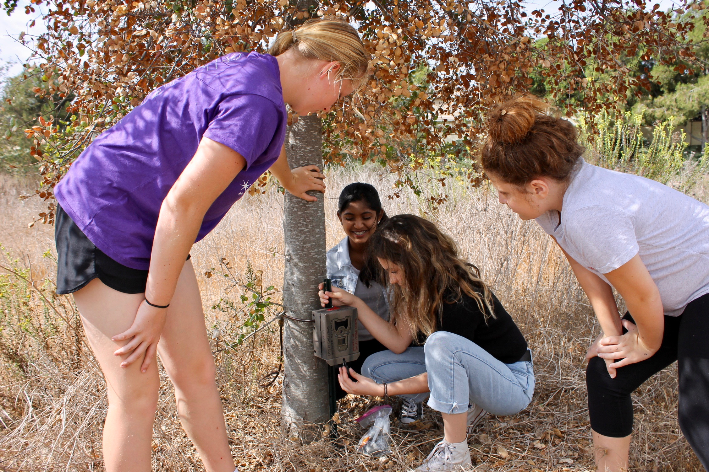 Pacific Ridge middle schoolers keep an eye on local wildlife