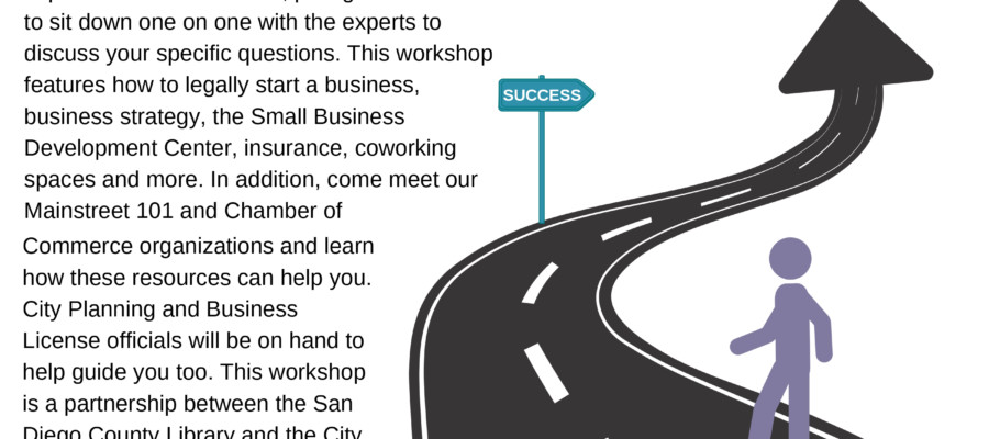 Small Business 101 workshop in Encinitas