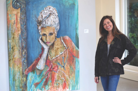 Artist brings bold works to Cedros Avenue Design District