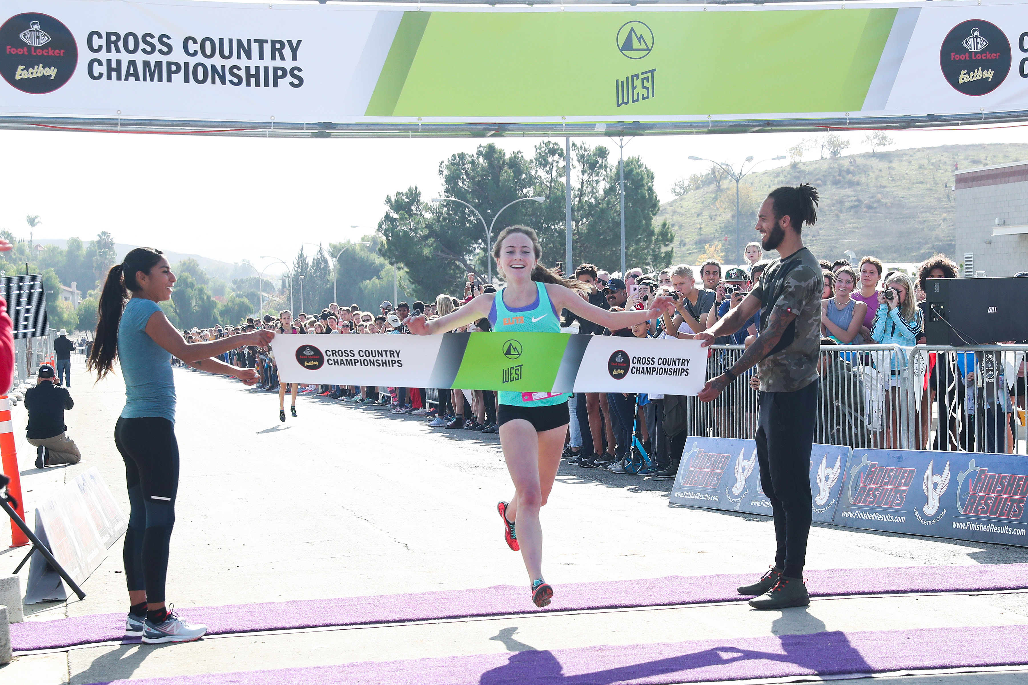 La Costa Canyon runner Fahy is best in West