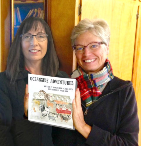 Sisters release first kids book in North County series