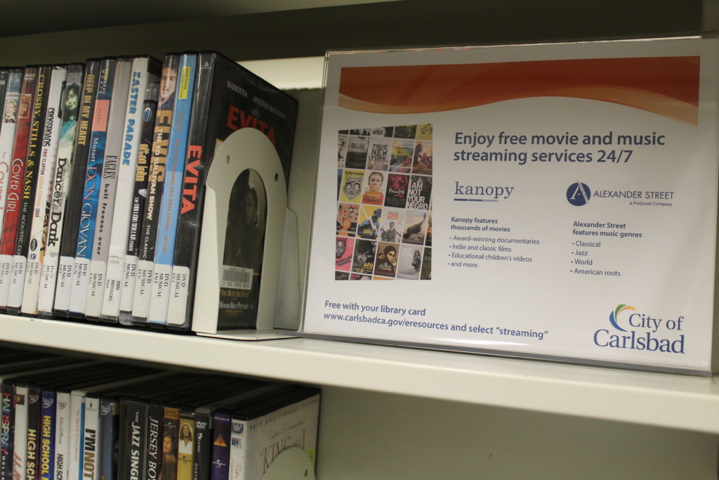 Streaming services come to Carlsbad library - The Coast News
