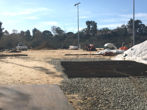 Poinsettia Park improvements ongoing