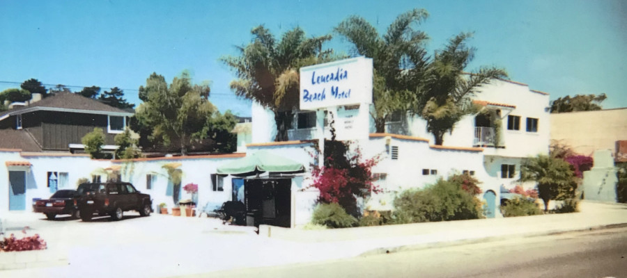Leucadia Beach Inn: City's oldest 'horseshoe' style motor lodge still standing