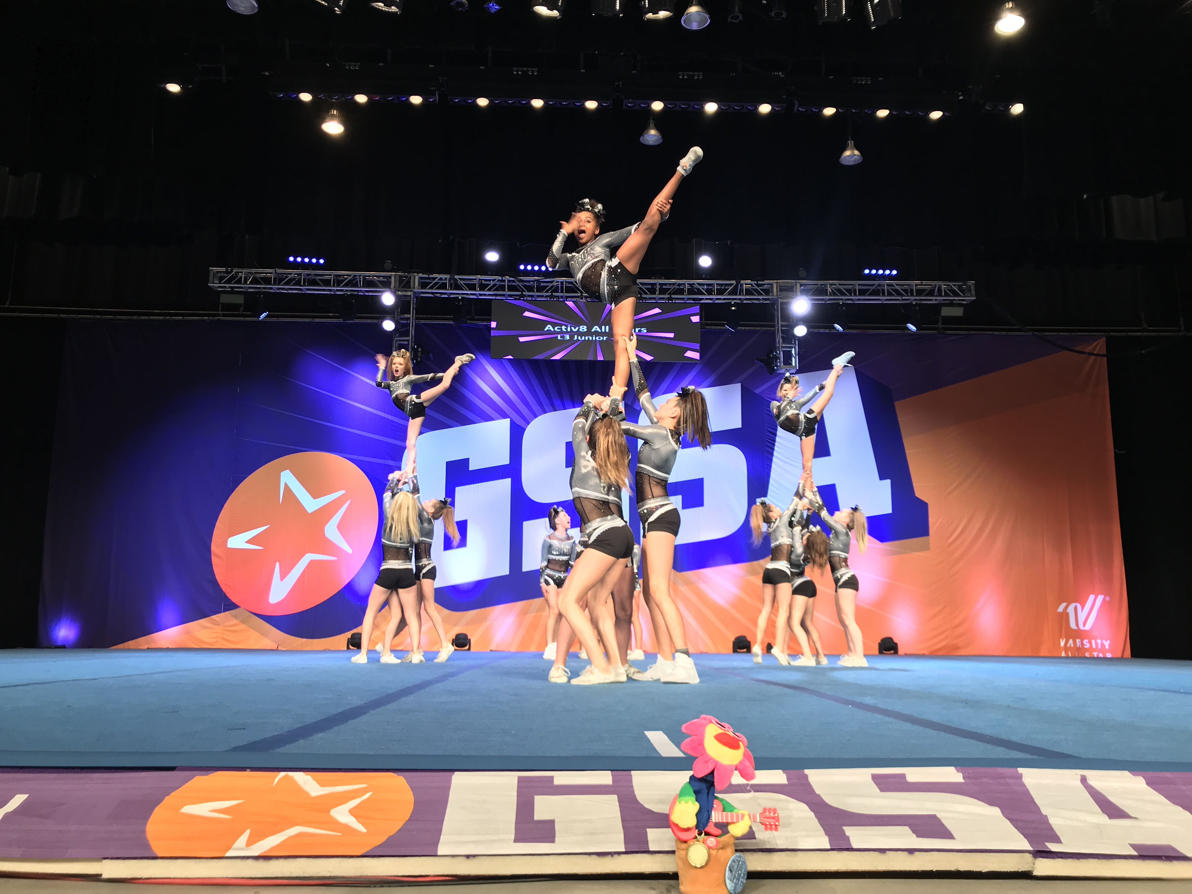 Activ8 cheer squads taking new approach