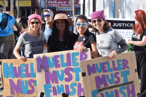 North County takes to streets for women's march