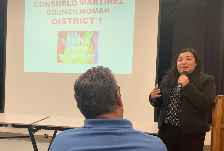 Newly elected city officials discuss plans with Escondido Democrats