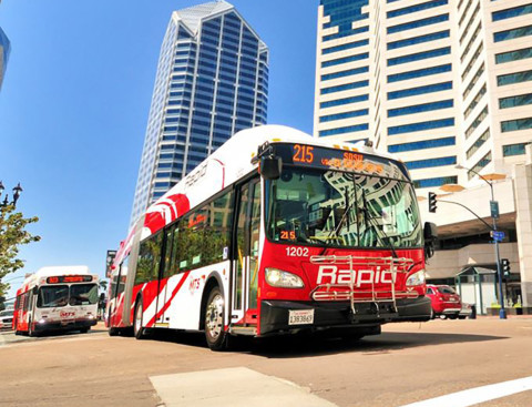 MTS ridership increases in first seven months of current fiscal year
