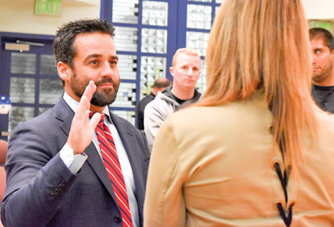 Former city police officer to Oceanside council