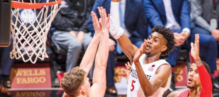 Sports Talk: McDaniels on the rise for the up-and-down Aztecs