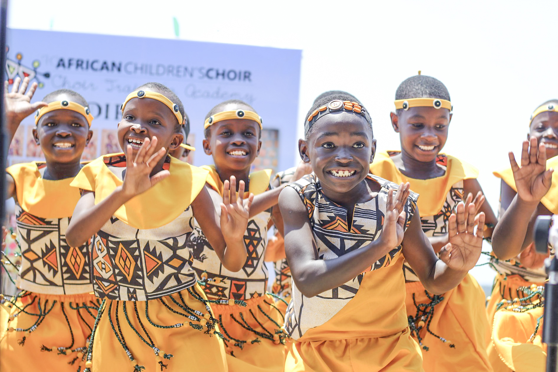 The African Children's Choir to perform in Oceanside