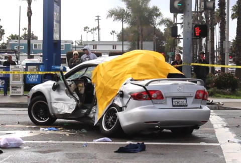 Three killed, three injured in Oceanside crash, teen driver arrested on suspicion of DUI