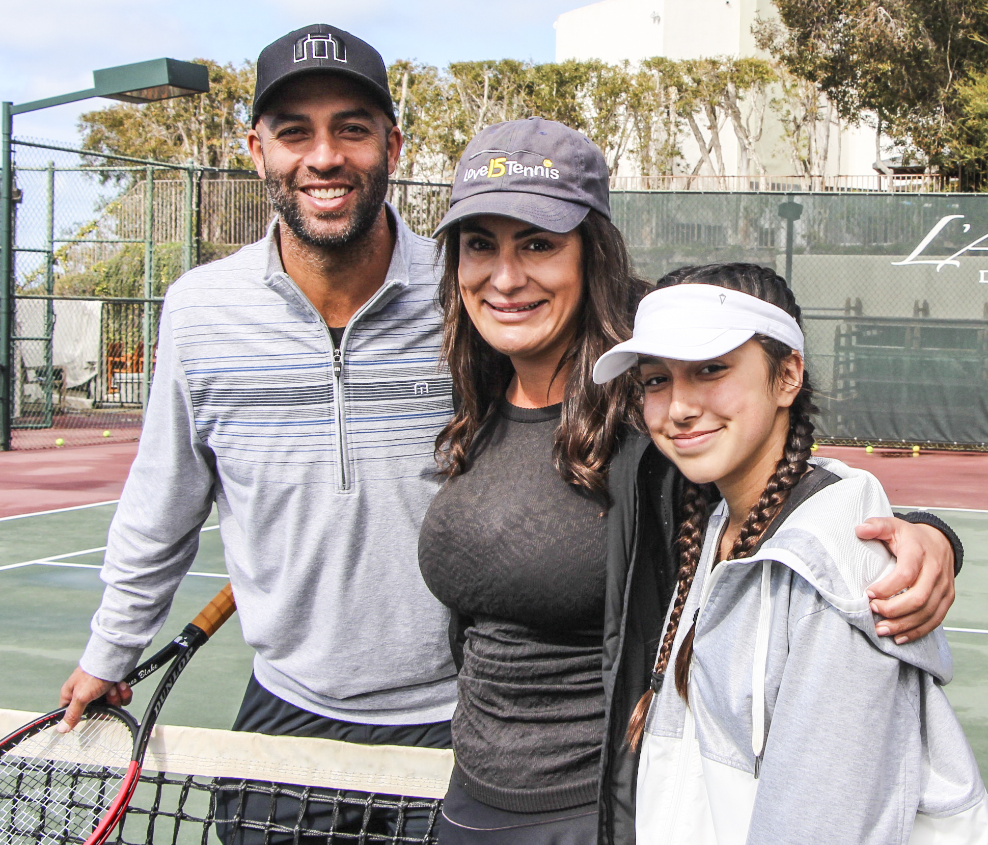 When tennis and helping others collide it equals a lot of love
