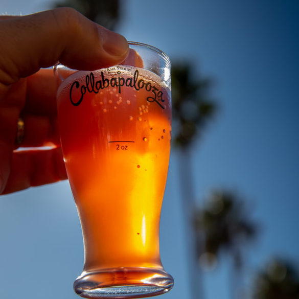 Collabapalooza, hosted by Karl Strauss Brewing, was a preview of San Diego Beer Week. Photo by Bill Vanderburgh