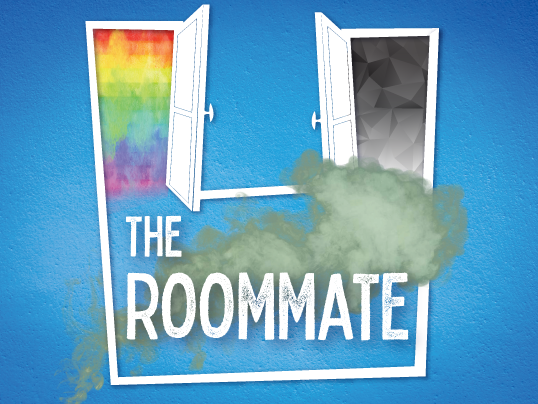 'The roommate' will play at Carlsbad's New Village Arts Theater from March 28 to April 19. Courtesy photo