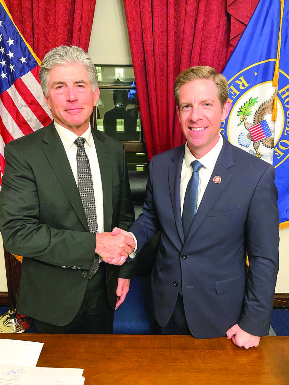 Mike Levin brought Dr. Pat Davis as his guest for President Donald Trump's State of the Union address. Davis lost three members of his family in a bluff collapse on an Encinitas beach.