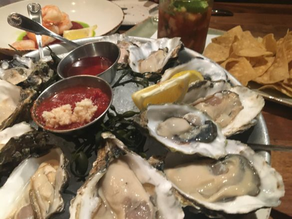 Those sizable oysters I mentioned. Photo by David Boylan