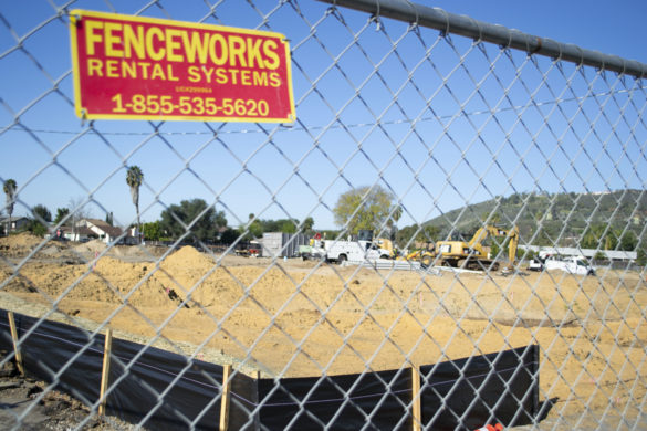 Construction is expected to get underway soon on new homes that are planned to be built on the site of the old Escondido Country Club golf course. Photo by Will Fritz