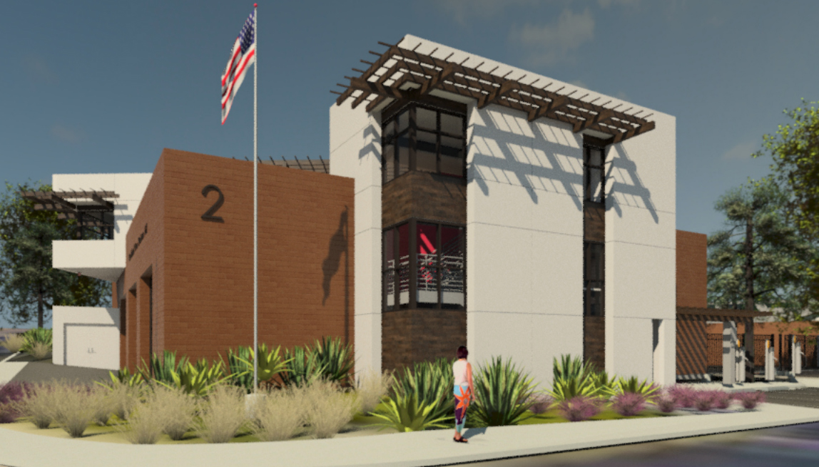 Fire Station rendering
