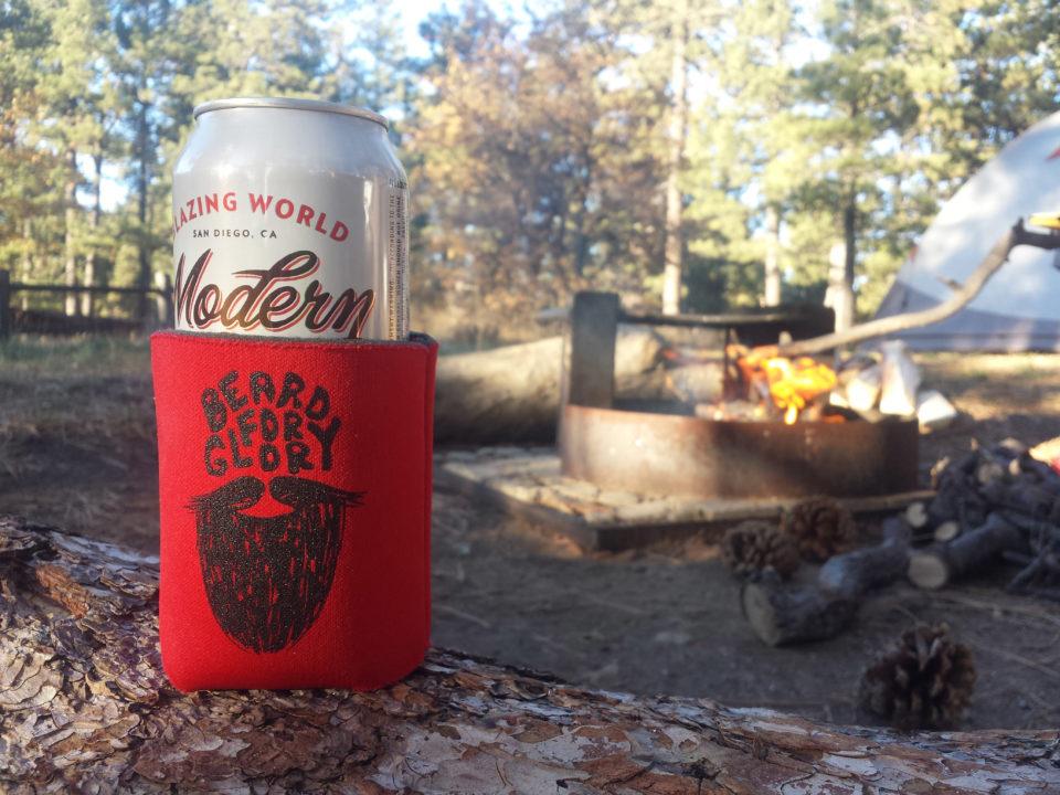 beer campfire