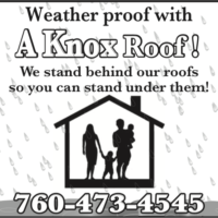 Weather Proof with a Knox Roof!